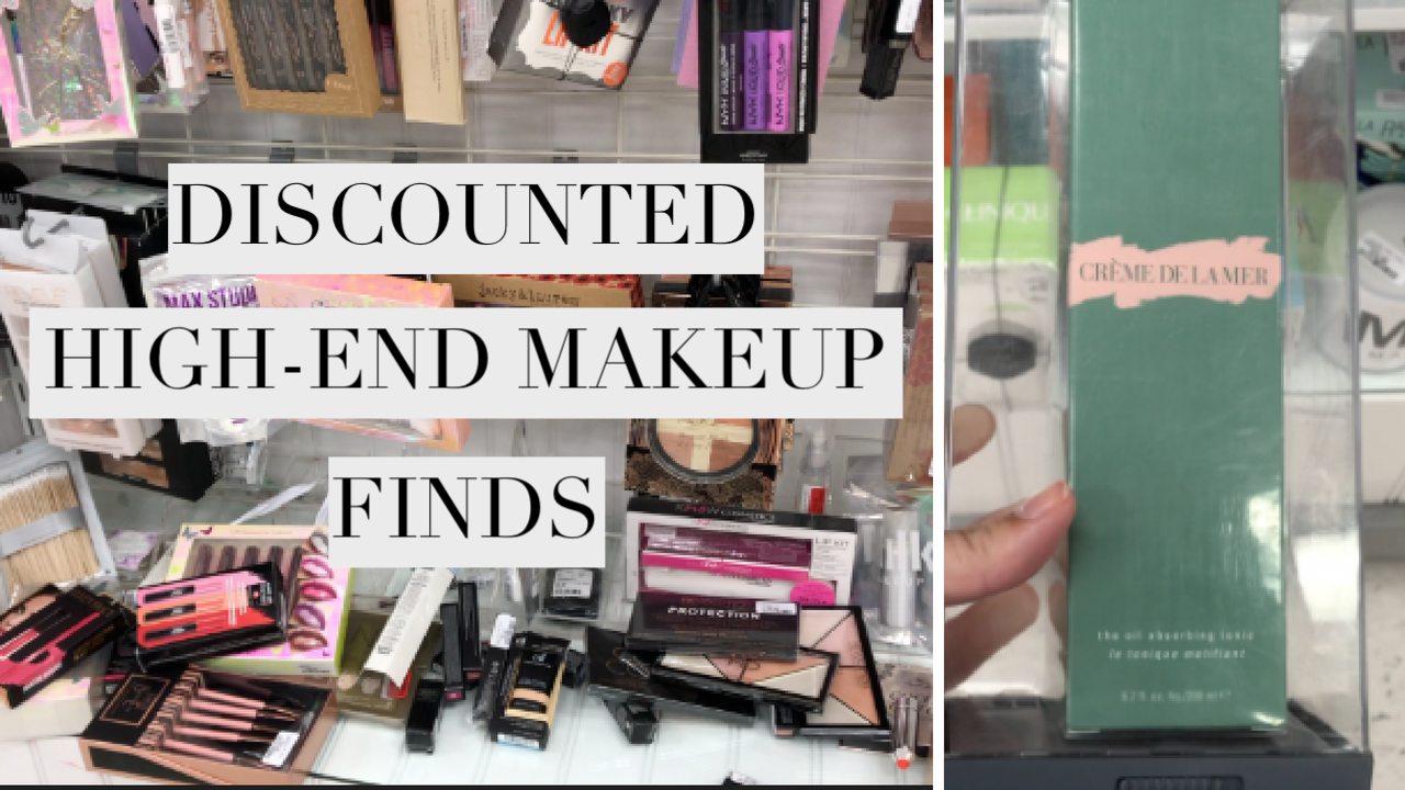 DISCOUNTED HIGH END MAKEUP AT MARSHALLS & WINNERS | LA MER, ABH, MARC JACOBS, ETC !