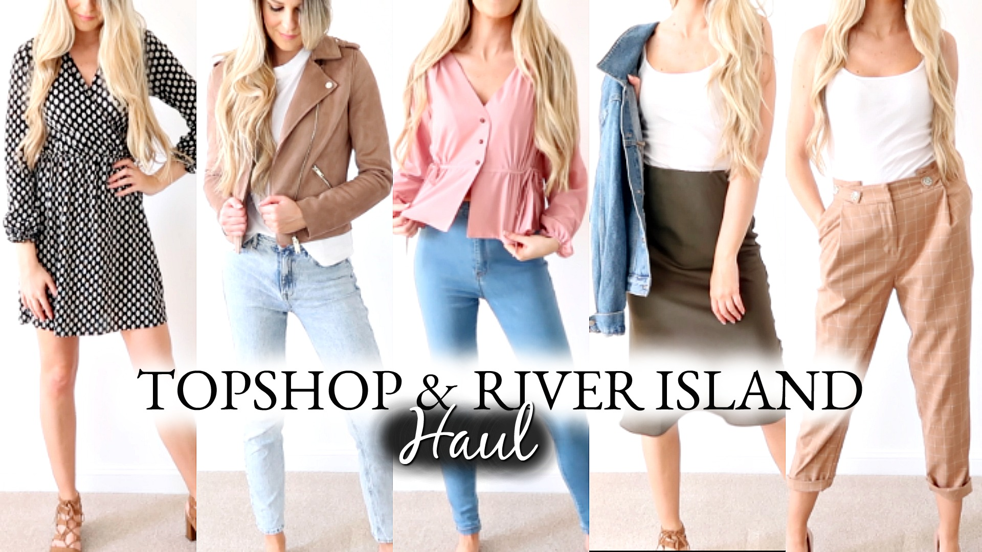 TOP & RIVERISLAND SPRING TRY ON HAUL 2019
