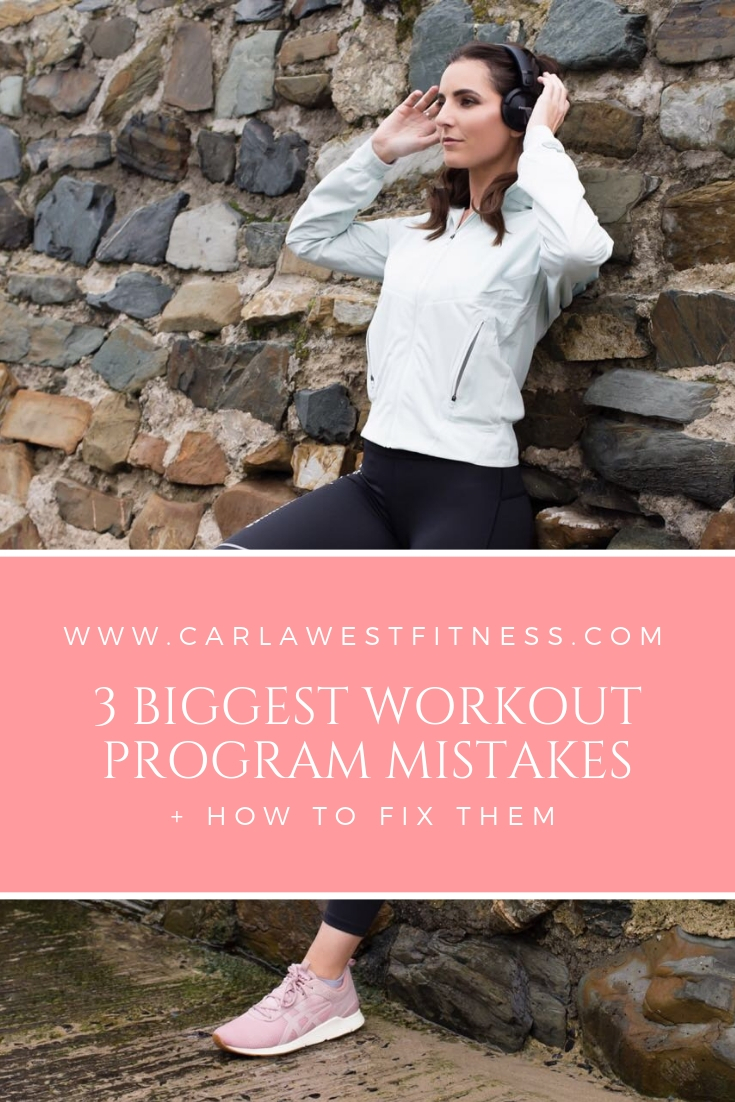 3 Biggest Workout Program Mistakes + How to Fix Them