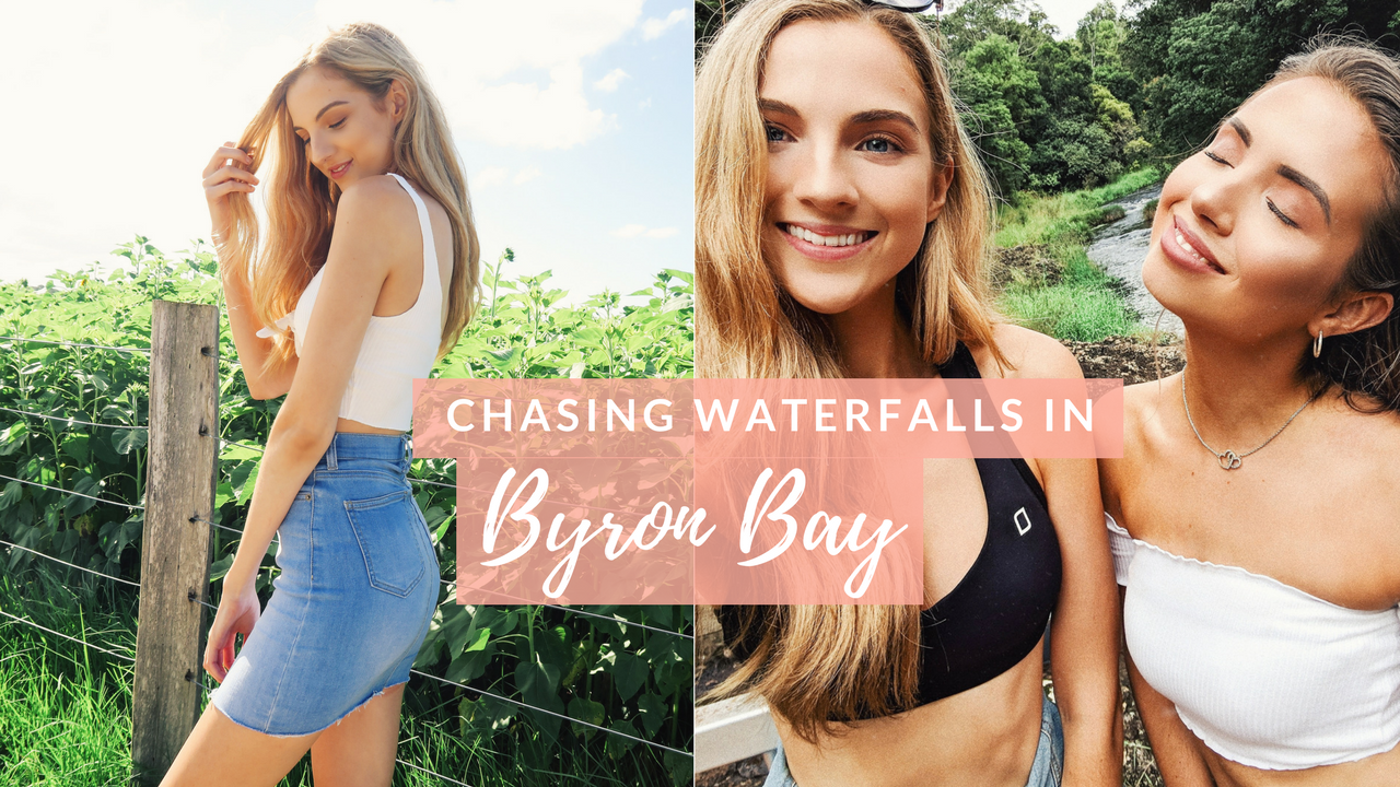 My First Vlog | Chasing Waterfalls in Byron Bay