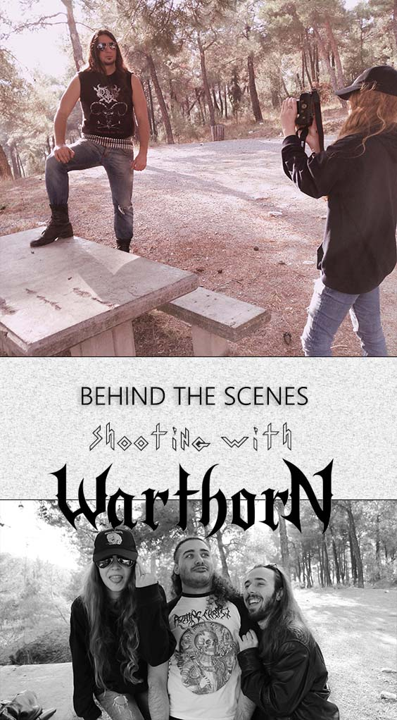 BEHIND THE SCENES | SHOOTING WITH WARTHORN
