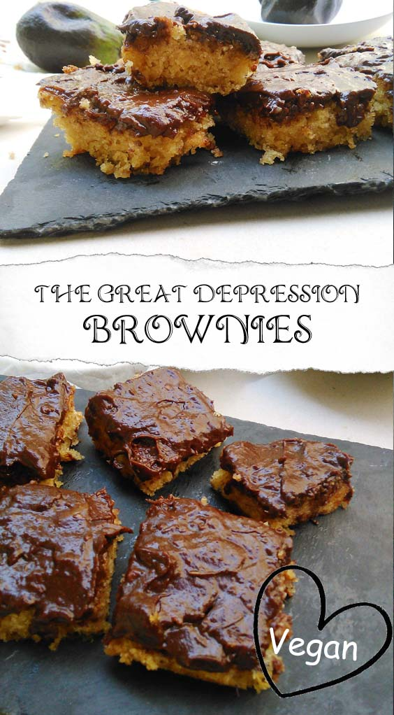 THE GREAT DEPRESSION BROWNIES | FRUGAL VEGAN TREATS
