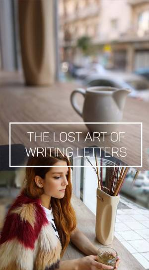PRECIOUS MEMORIES | THE LOST ART OF WRITING LETTERS