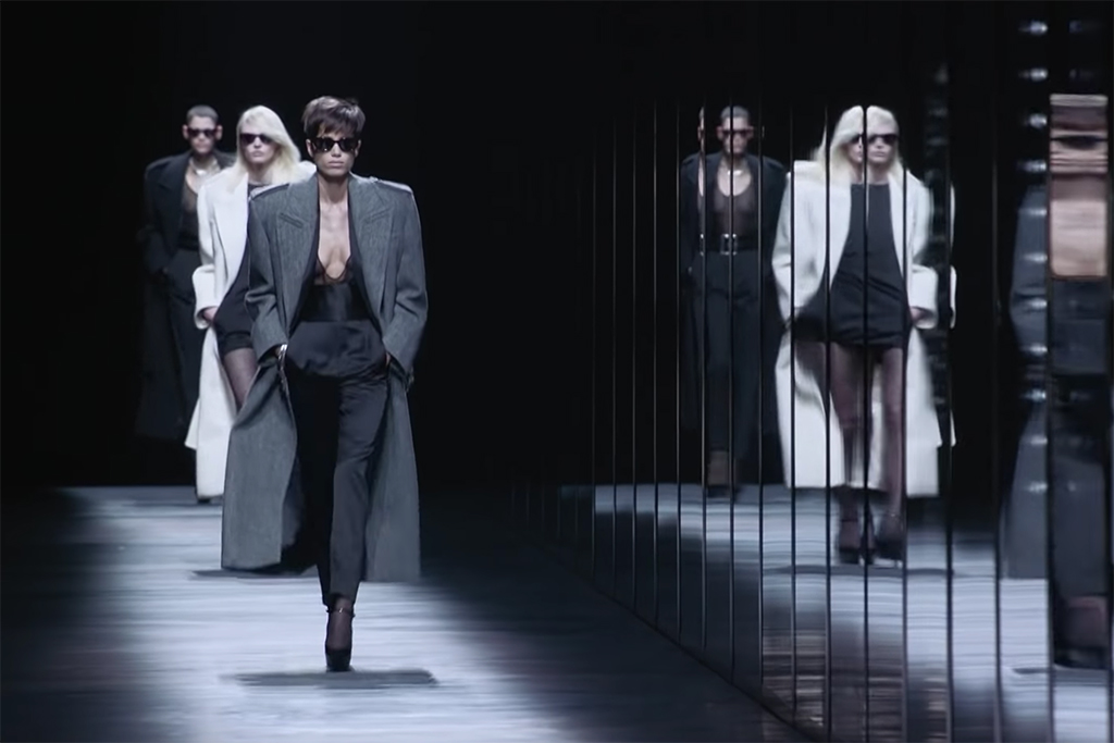 Saint Laurent Winter 19 Runway Recap - 80's Power and Sultry Vulnerability