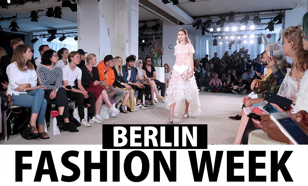 Berlin Fashion Week SS 2018