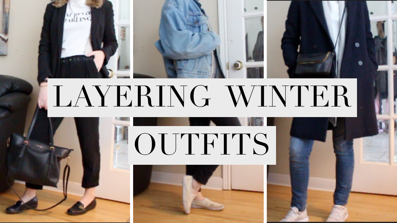 Winter Layering (5 Outfits)
