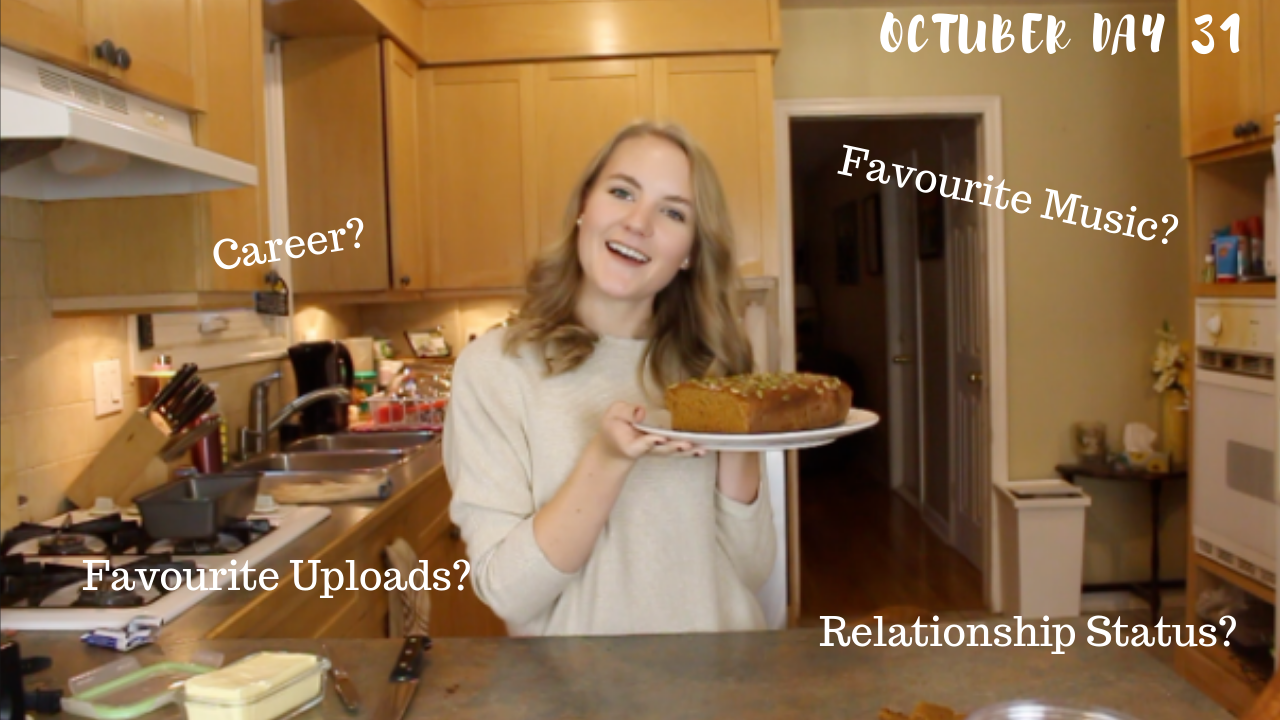 ANSWERING YOUR QUESTIONS & BAKING