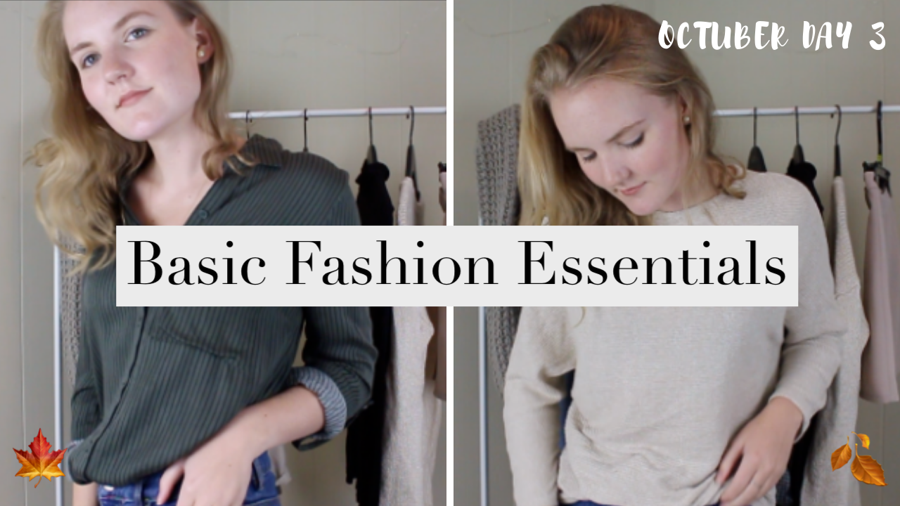 BASIC FALL FASHION ESSENTIALS