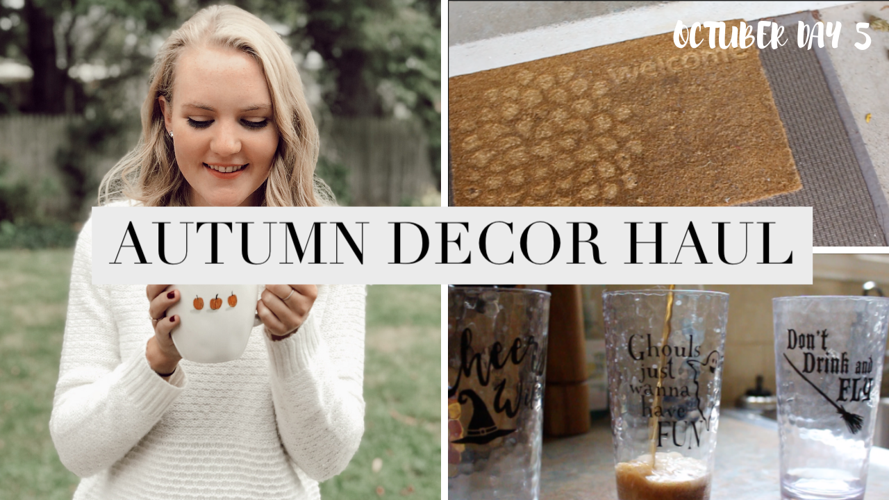 2018 AUTUMN HOME DECOR HAUL