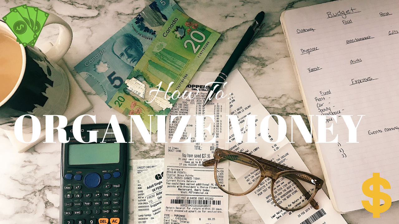 PLANNING OUT MY MARCH BUDGET | HOW I SAVE & ORGANIZE MY MONEY
