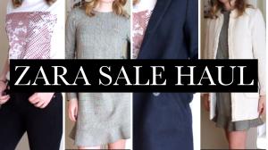 2018 ZARA SALE HAUL | Try On