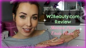 Etude house skincare range - W2beauty.com Review