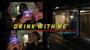 A BAR IN THE FRIDGE??? #drinkwithme