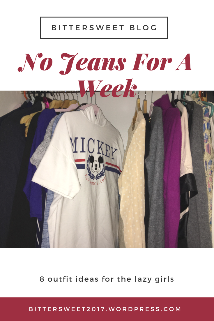 Say No To Jeans 4 A Week