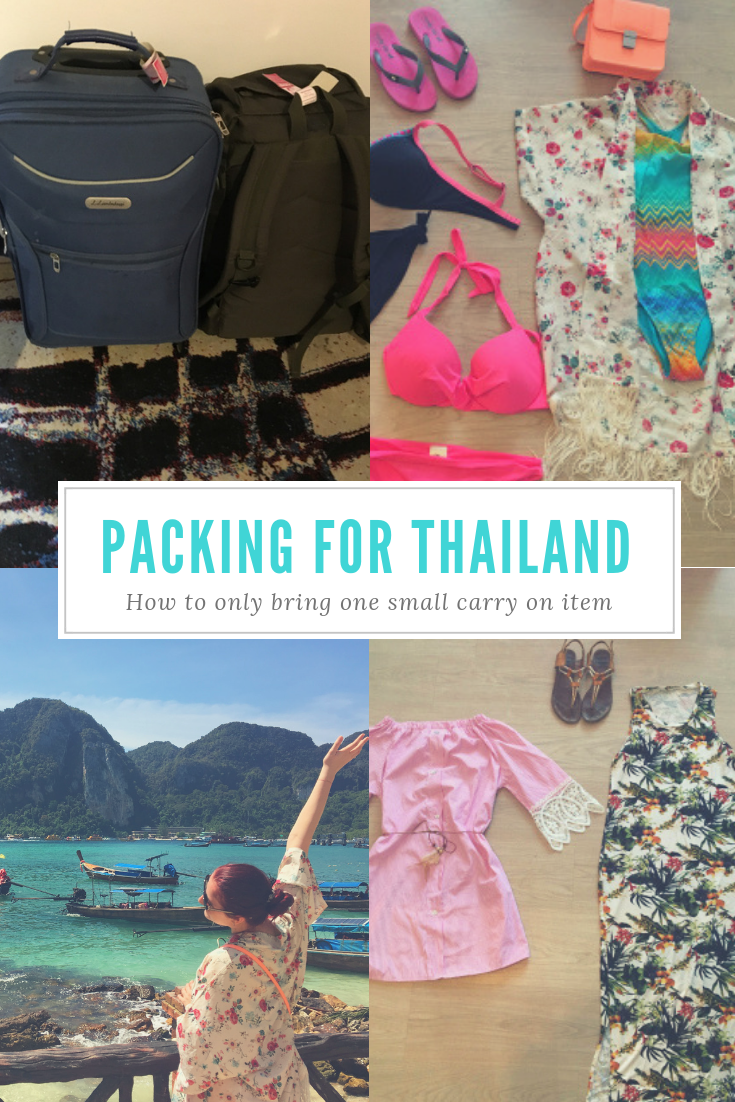 Traveling: What to pack for a 14 days trip to Thailand