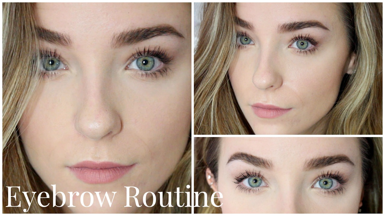 My eyebrow routine full thick brows tutorials anastasia brow my eyebrow routine full thick brows baditri Images