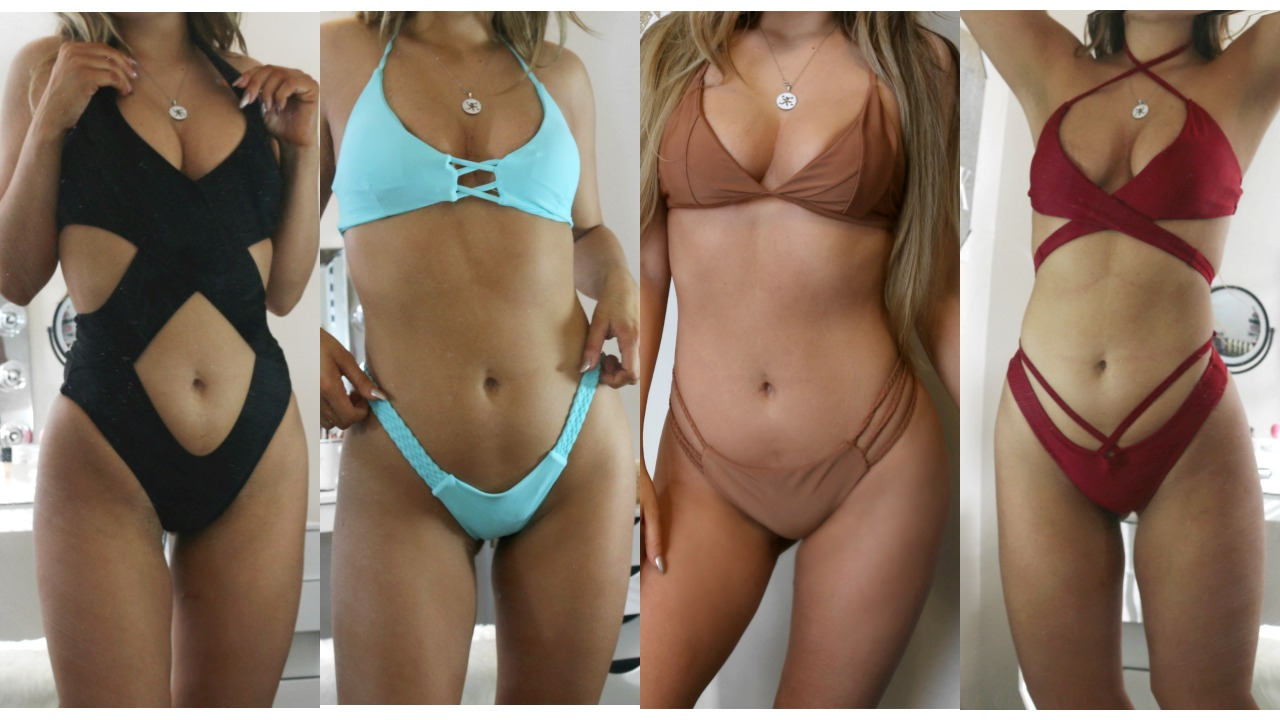 0efbc009c8 Zaful Bikini Try On Haul   Review - LOOKS - Fashion Potluck