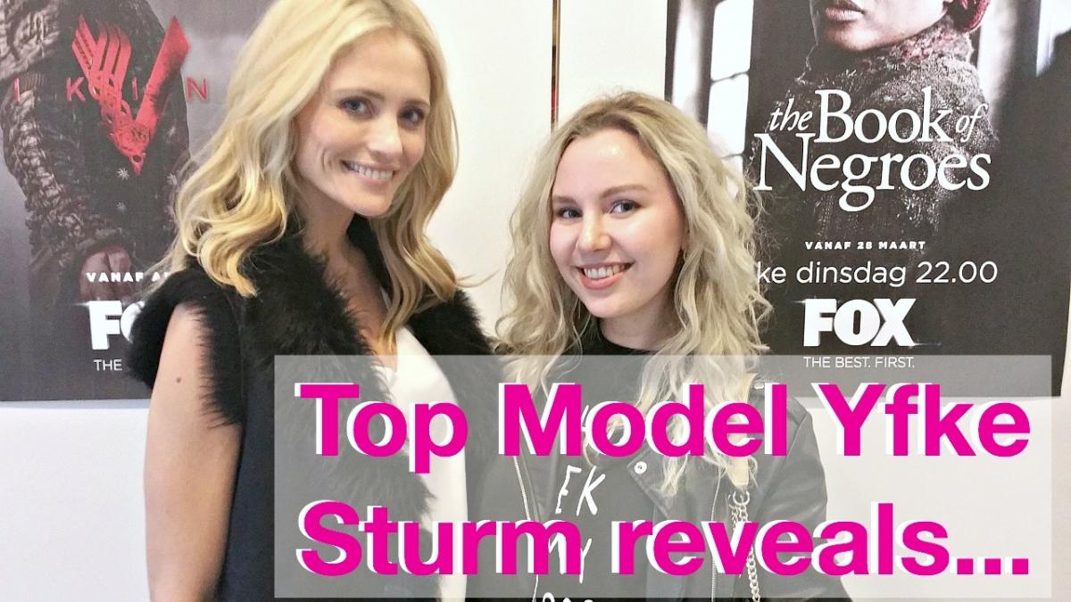 VLOGGED   Topmodel Yfke Sturm reveals...