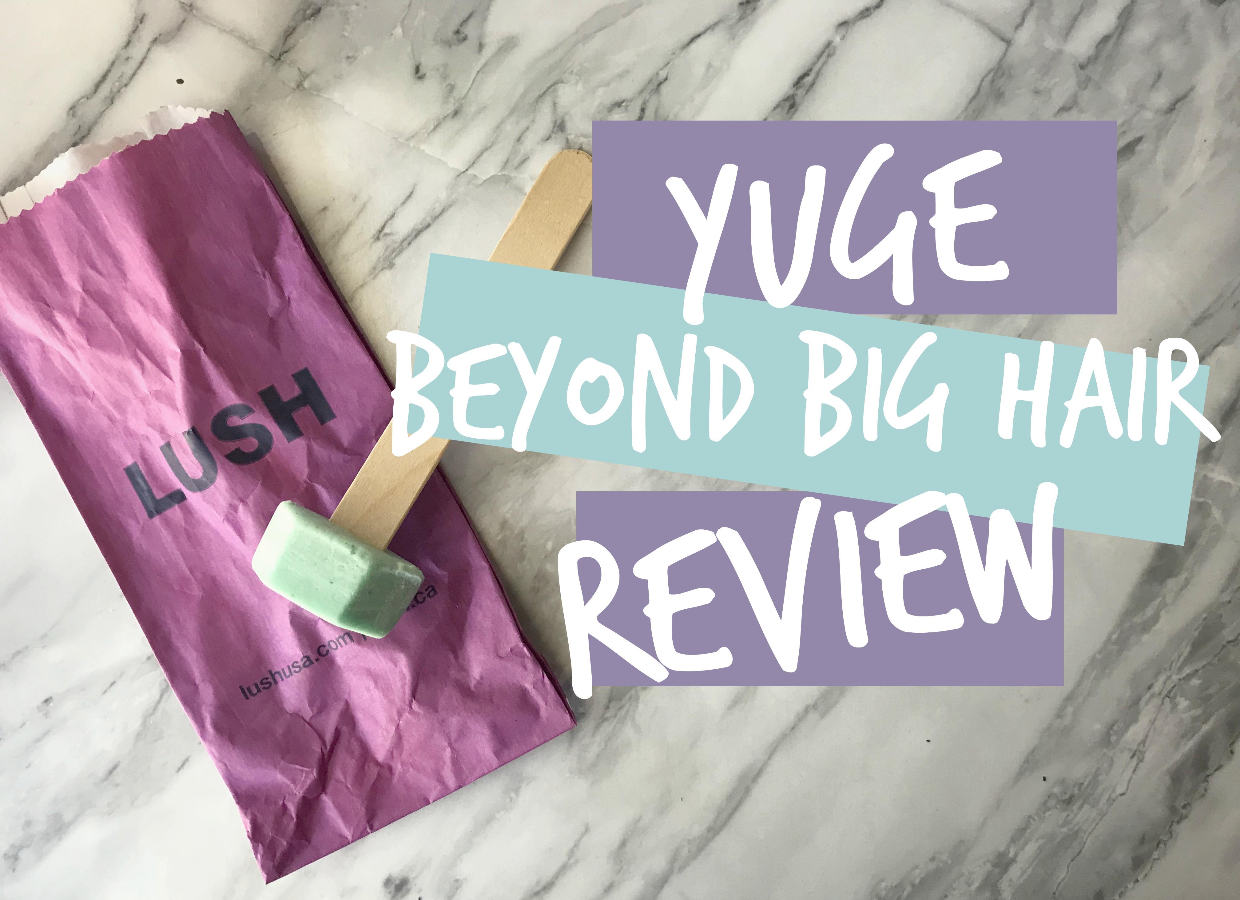 YUGE | Beyond Big Hair | Hot Oil Treatment