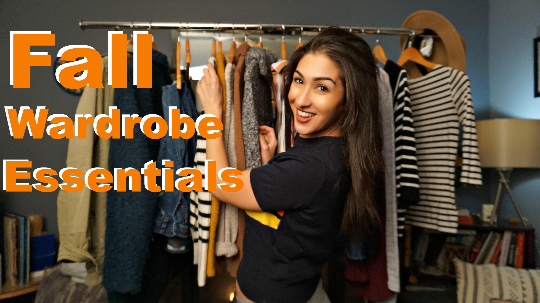 Fall Wardrobe Essentials