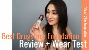L'Oreal Infallible Fresh Wear Foundation | Review + Wear Test