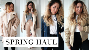 Spring Fashion Try-On Haul 2016