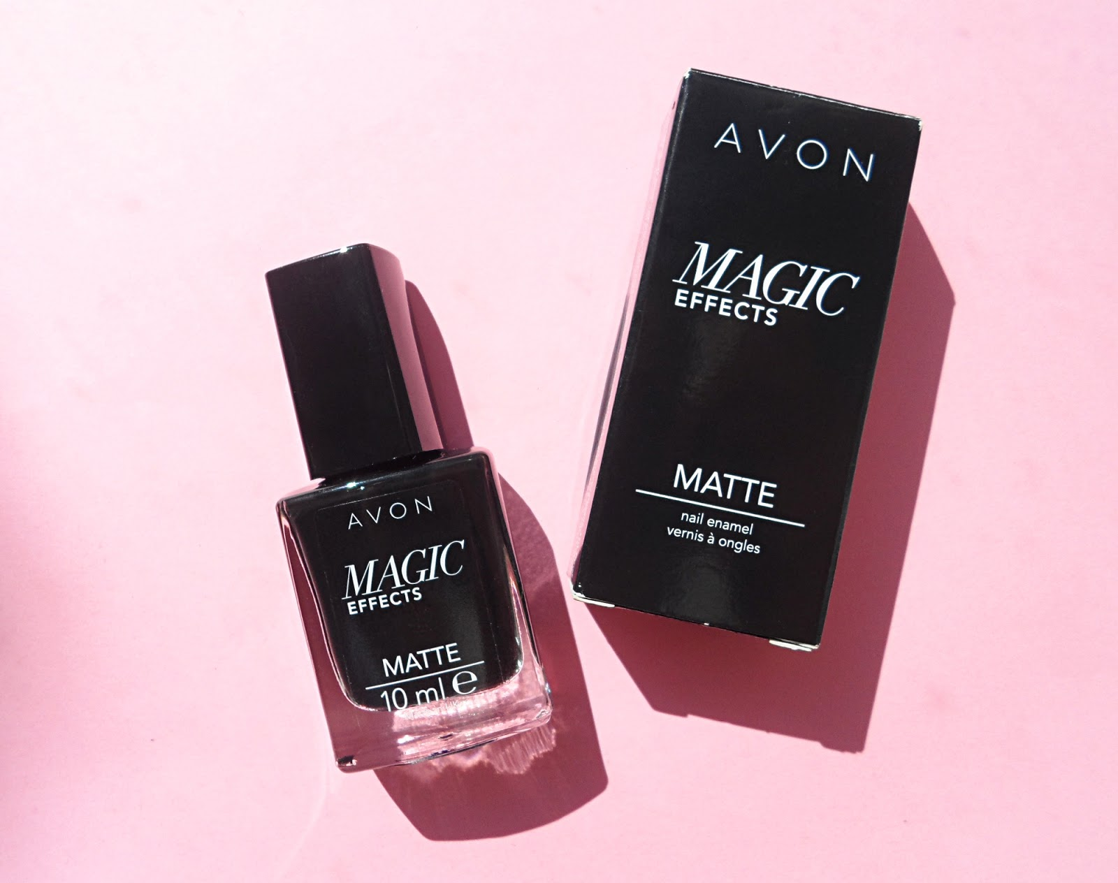 AVON MAGIC EFFECTS MATTE NAIL ENAMEL | REVIEW & SWATCHES