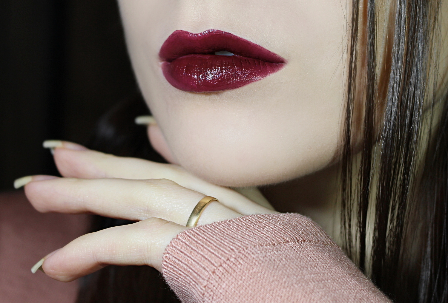 CITY COLOR CREAMY LIPS 'CHOCOLATE MERLOT' | REVIEW & SWATCHES