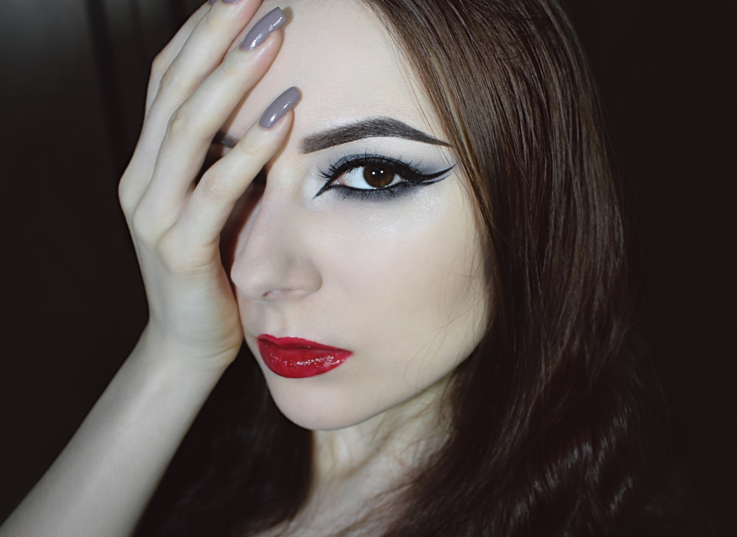 Nocturnal Eyes: Step By Step Goth Smoky Eye & Double Eyeliner Makeup Tutorial