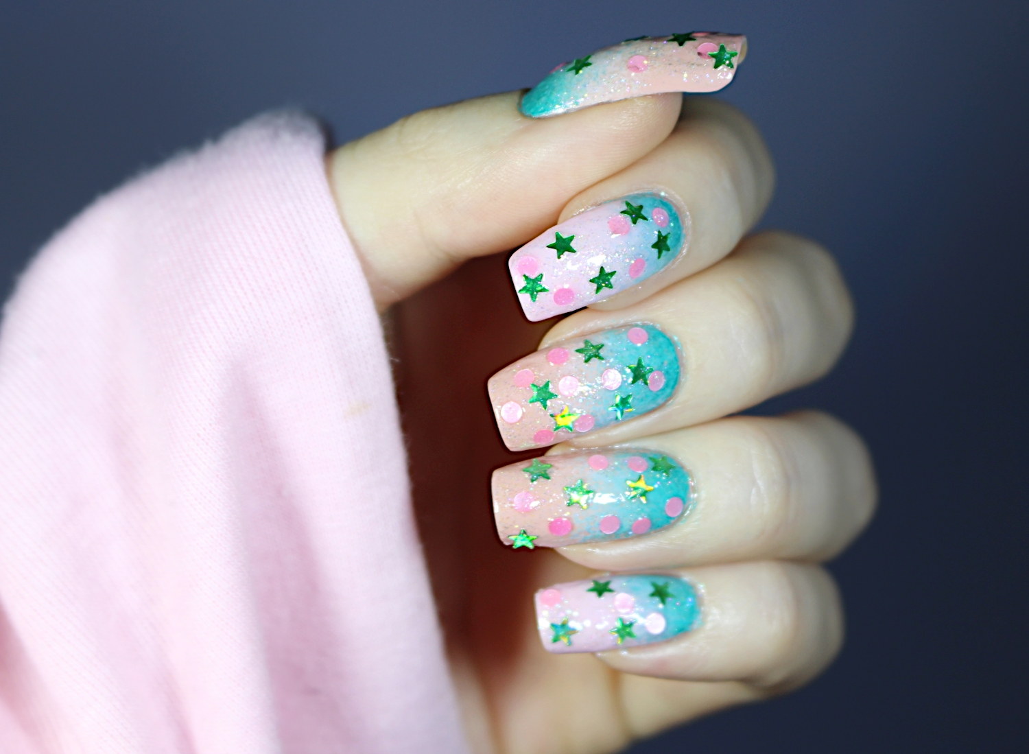 MERMAID K-POP NAILS: K-BEAUTY INSPIRED NAIL DESIGN