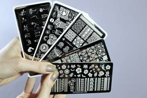 TOP FIVE NAIL STAMPING PLATES FOR SHORT NAILS BY BORN PRETTY