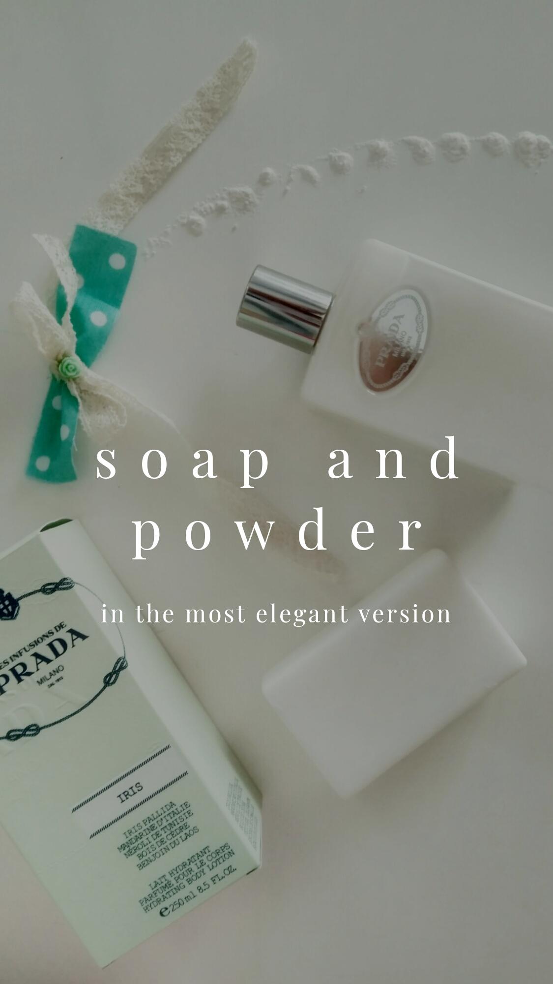 Fresh and clean in Prada!