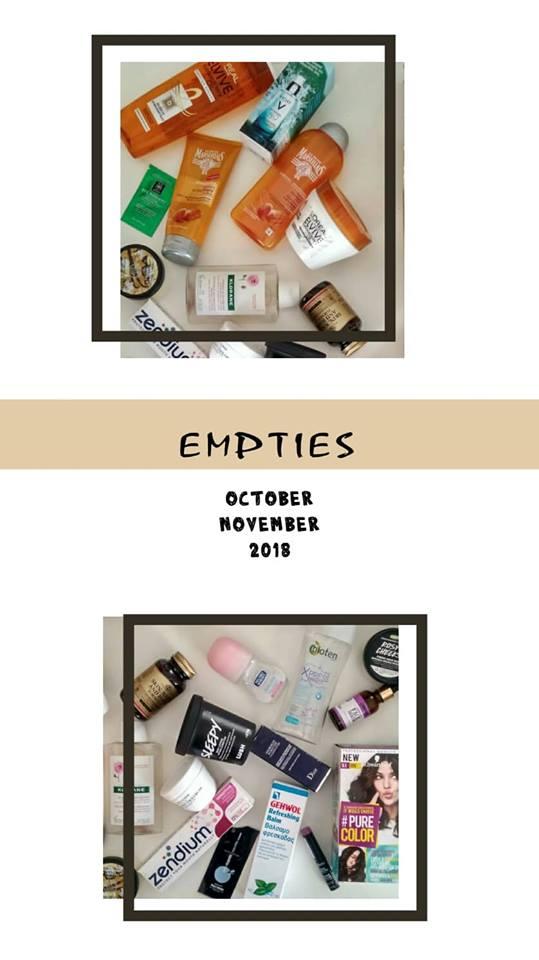 EMPTIES REVIEW: OCTOBER-NOVEMBER 2018