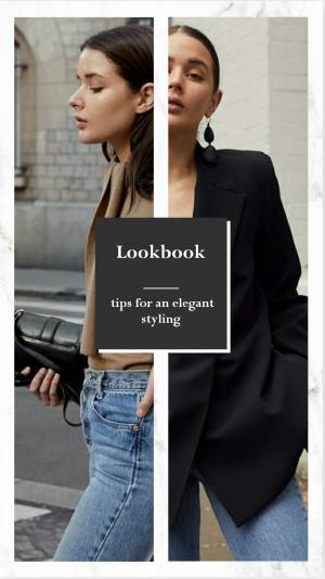 Lookbook:  Elegant styling
