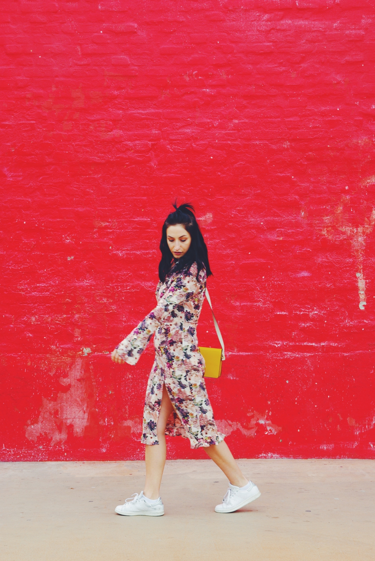 Ways to style the floral dress in Copenhagen