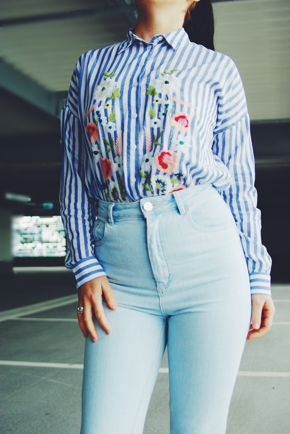 Spring floral trends – Two ways to wear a floral shirt