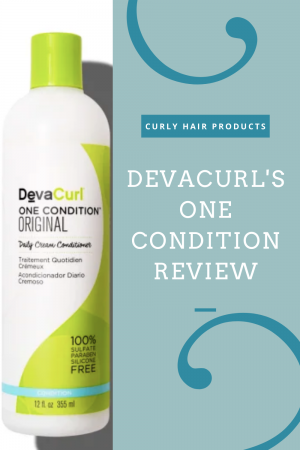 DevaCurl's One Condition Original Review   Curly Hair Products