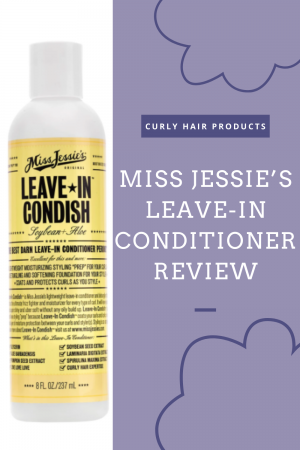 Miss Jessie's Leave-In Conditioner Review | Curly Hair Products