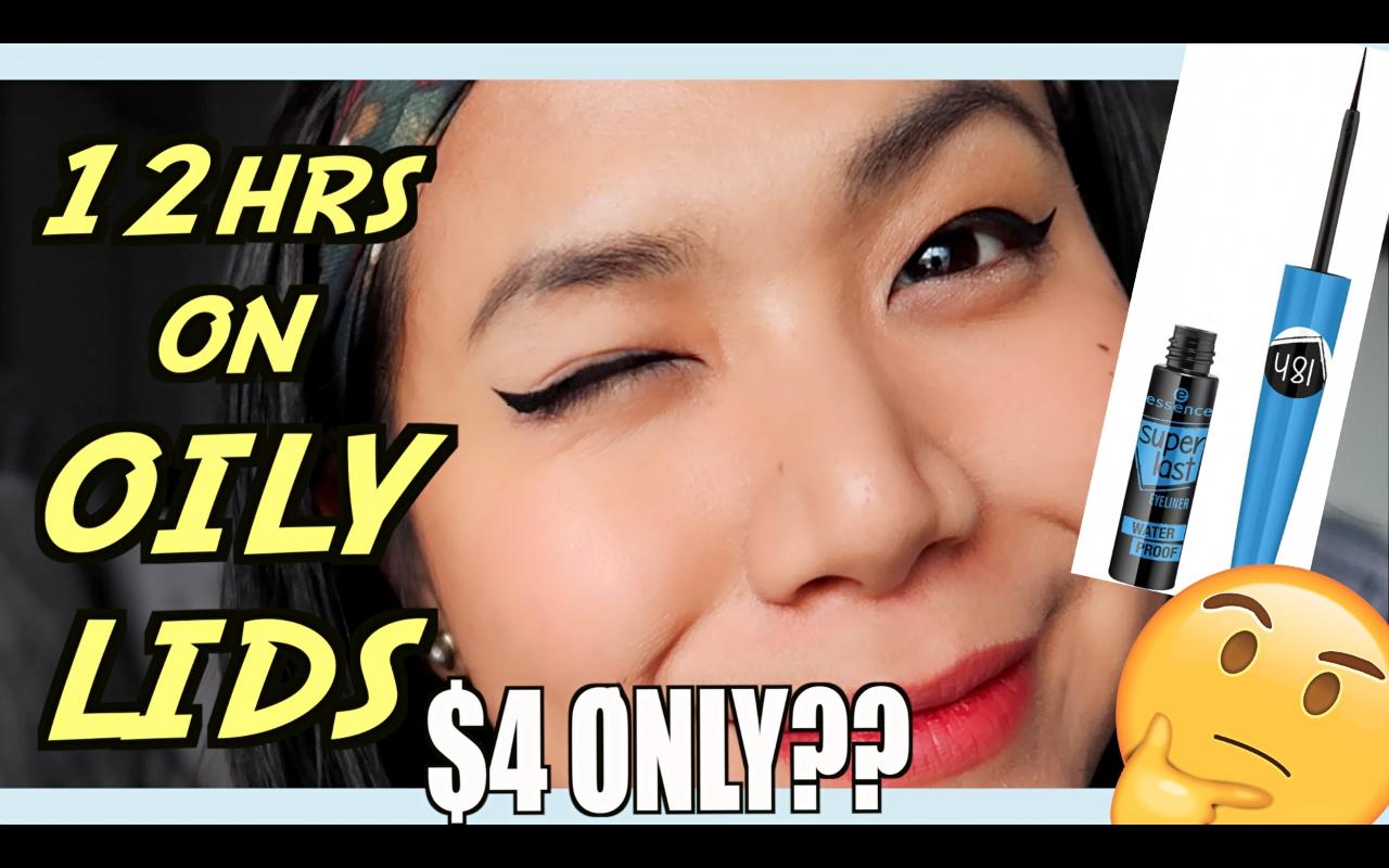 $4 EYELINER FOR OILY EYELIDS