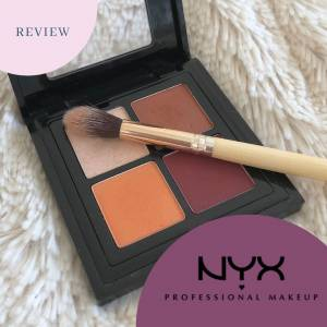Nyx Eye Shadow Palette Review - Full Throttle/ Color Riot