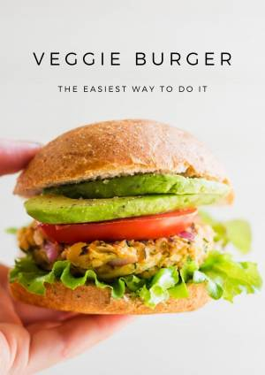 Veggie Burger Recipe - The Easiest Way to Do It