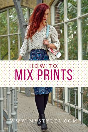 Mixing & Matching Prints in Style