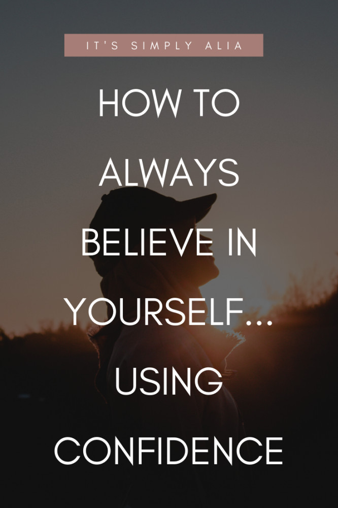 Confidence Gives You The Benefit Of Believing In Yourself