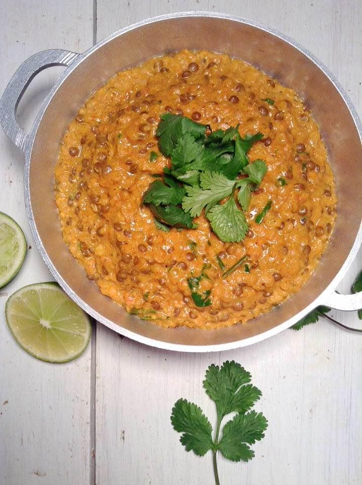 Vegan Dal makhani (vegan butter lentils)