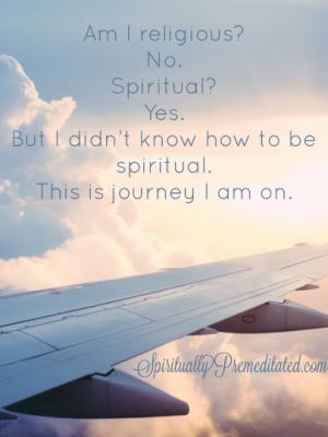 My Spiritual Journey Led me to...Boston