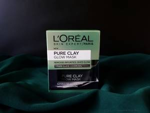 L'OREAL PURE CLAY GLOW MASK- REVIEW
