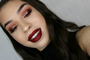 Fall Makeup (Last Picture, I promise!)