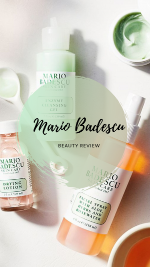Mario Badescu: Rose Hips Mask, Aloe Vera Lotion and Eye Cream Review