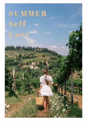 Summer Self-care: Skin, Hair and Mental Health
