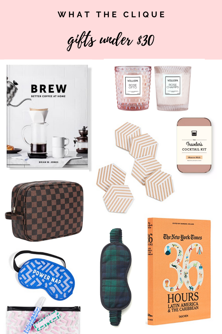 Holiday Gift Guide: Under $30